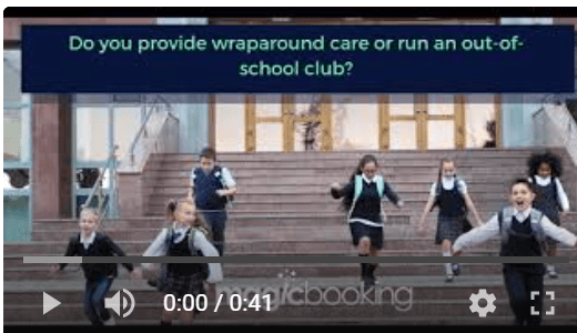 SHORT VIDEO TO PROMOTE MAGICBOOKING'S OUT-OF-SCHOOL CLUB SOLUTION